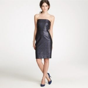 J. Crew Collection Strapless Cocktail Dress